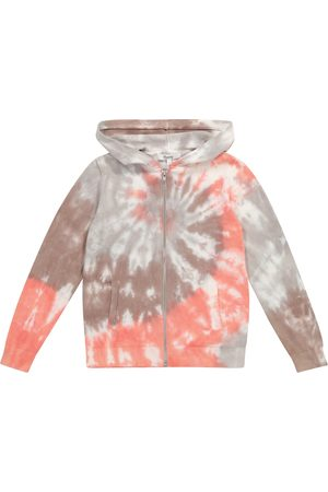 BONPOINT Cardigan a stampa tie-dye in cotone