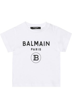 Balmain Baby - T-shirt in cotone con logo