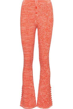 LIVE THE PROCESS Pantaloni flared Marl in maglia