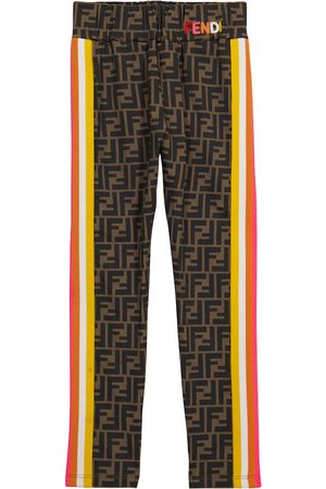 Fendi Leggings a stampa FF