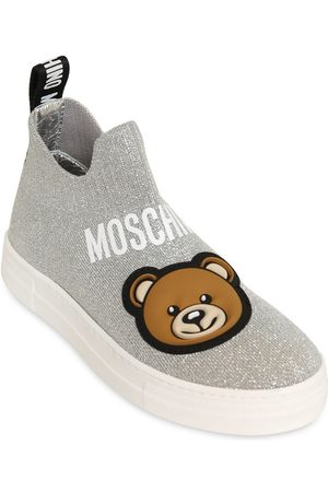 Moschino Sneakers In Maglia