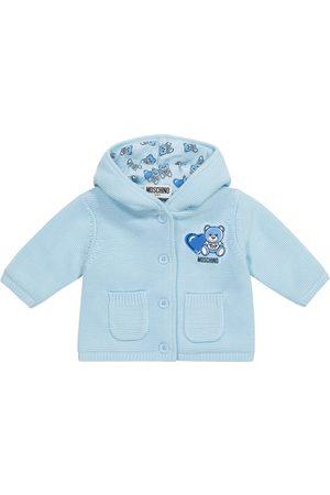 Moschino Baby - Cardigan in maglia di cotone