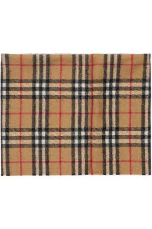 Burberry Bambina Sciarpe - Sciarpa In Cashmere Check