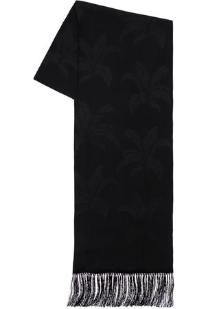 Saint Laurent Sciarpa In Seta Jacquard