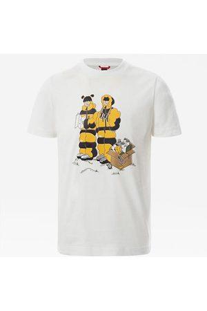The North Face The North Face T-shirt Graphic Ragazzi Tnf White Him Suit Print Taglia L Donna