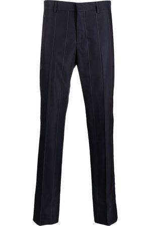 GCDS Uomo Chinos - Pantaloni dritti gessati