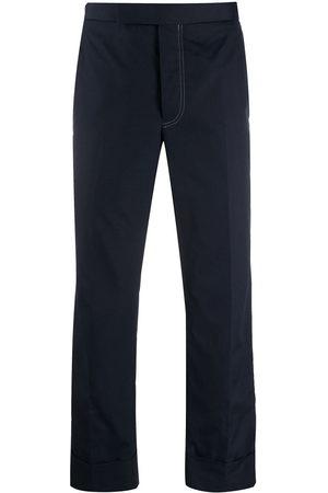 Thom Browne Uomo Eleganti - Pantaloni sartoriali crop