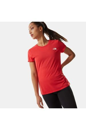 The North Face The North Face T-shirt Donna Reaxion Ampere Horizon Red Taglia L Donna