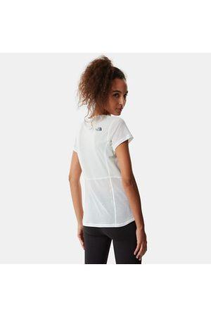 The North Face The North Face Circadian T-shirt Donna Tnf White Heather-tin Grey Taglia L Donna