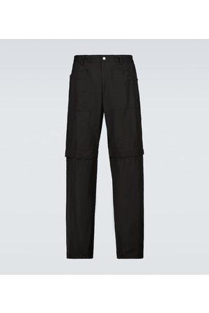 DRIES VAN NOTEN Pantaloni sportivi convertibili in shorts
