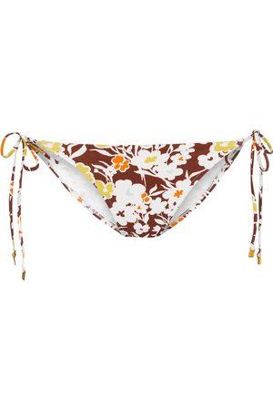 Tory Burch Slip bikini a stampa floreale