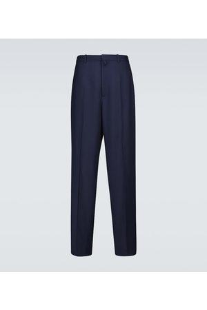 Balenciaga Uomo Eleganti - Pantaloni sartoriali in lana