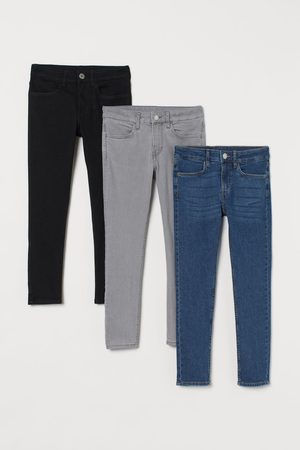 adidas Bambino Pantaloni - Skinny Fit Jeans, 3 pz
