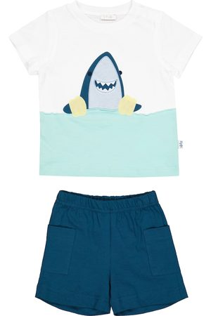 adidas Baby - T-shirt e shorts in cotone