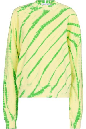 adidas White Label - Felpa a stampa tie-dye in cotone