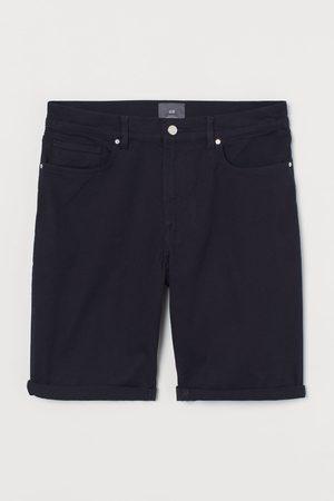 H & M Uomo Pantaloncini - Shorts in twill Slim Fit