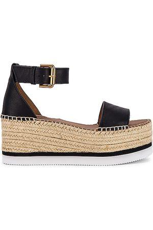 adidas Glyn Platform Sandal in - . Size 35 (also in 36, 37, 38, 39, 40, 41).