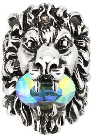 Gucci Anello con cristalli