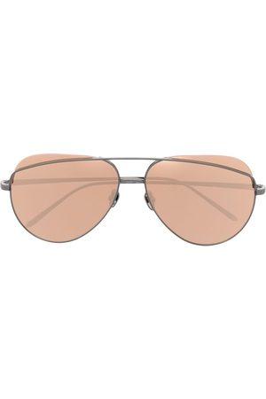 Linda Farrow Donna Occhiali da sole - Occhiali da sole modello aviator Colt C4