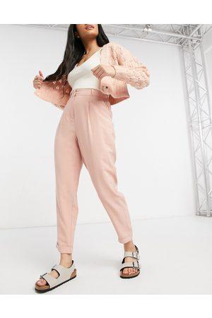 Oasis Pantaloni con risvolto e pinces