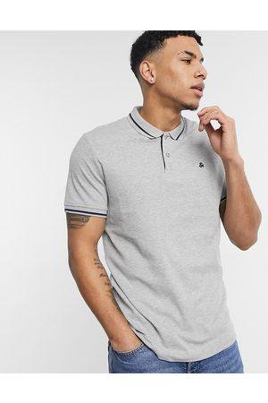Jack & Jones Essentials - Polo in jersey chiaro