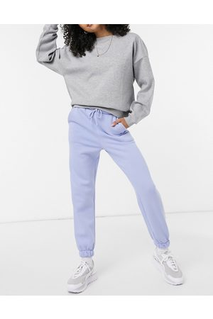 ASOS Joggers oversize blu Forget me Not in coordinato
