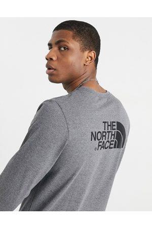 The North Face Pratica maglietta grigia a maniche lunghe