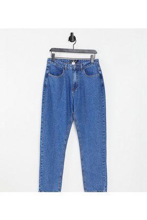 Daisy Street Mom jeans in denim effetto candeggiato