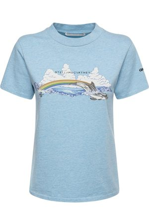 Stella McCartney T-shirt In Jersey Di Cotone Organico