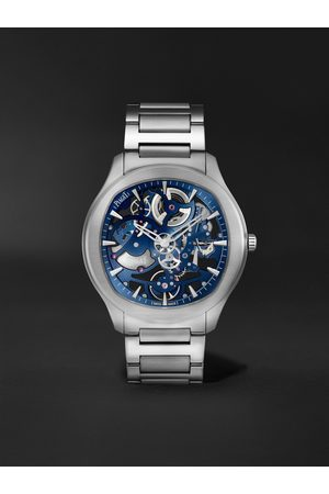 PIAGET Uomo Orologi - Polo Skeleton Automatic 42mm Stainless Steel Watch, Ref. No. G0A45004