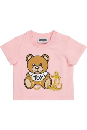 Moschino Baby - T-shirt in cotone con stampa
