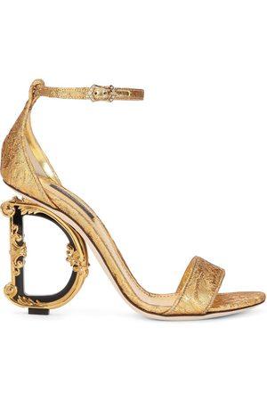 Dolce & Gabbana Sandali con tacco scolpito