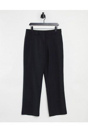 Y.A.S Pantaloni sartoriali con fondo ampio neri