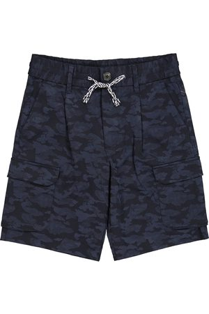 Emporio Armani Shorts cargo a stampa