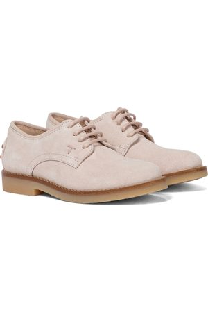 Tod's Stringate in suede