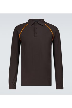 GR10K Uomo Polo - Taped Ultrasound long-sleeved polo