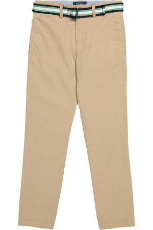 Ralph Lauren Pantaloni in cotone con cintura