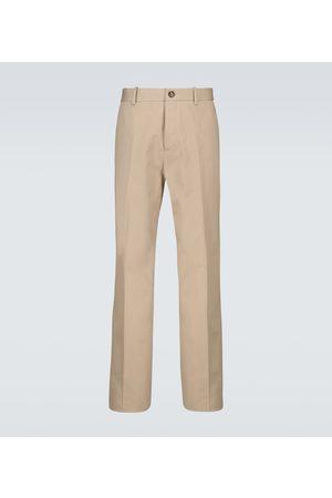 Bottega Veneta Pantaloni in cotone