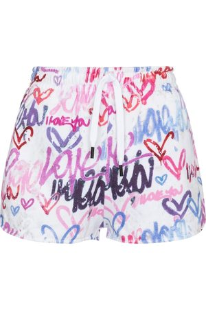 Isabel Marant Shorts sportivi Mifikia a stampa in cotone