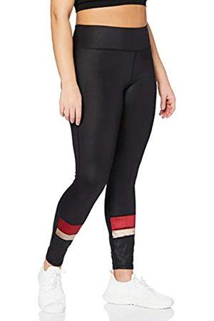 AURIQUE Marchio Amazon - - Velour Panel, Leggings sportivi Donna, , 46, Label:L