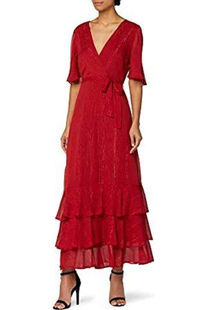 adidas Marchio Amazon - Vestito con Rouches all'Orlo Donna, , 42, Label: S