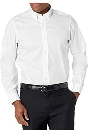 """adidas Amazon Brand - Camicia elegante da uomo, classica, colletto con bottoni, tinta unita, in cotone Supima, non necessita di stiratura, , 15.5"""" Neck 32"""" Sleeve"""