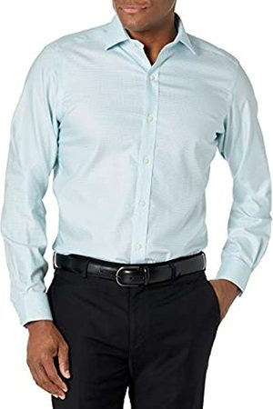 """adidas Tailored Fit Button-collar Pattern Non-iron Dress Shirt Camicia, , 14.5"""" Neck 34"""" Sleeve"""