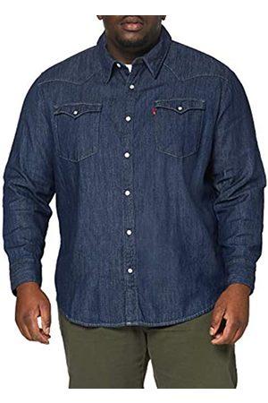Levi's Big and Tall Big Barstow Western Shirt, , 5XL Uomo