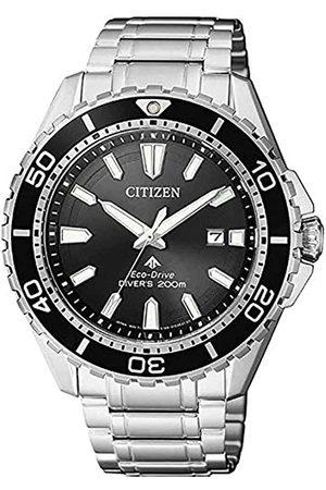 Citizen Orologio Analogico Solare Uomo con Cinturino in Acciaio Inox BN0190-82E