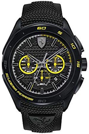 Scuderia Ferrari 0830345 Orologio da uomo al quarzo, con quadrante classico analogico e cinturino in silicone