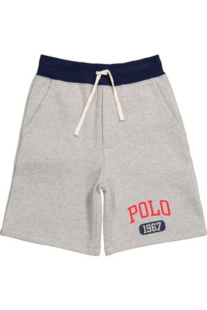 Ralph Lauren Shorts in misto cotone con logo