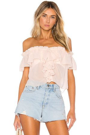 House of Harlow X REVOLVE Garrett Top in - Pink. Size L (also in M, S, XS).