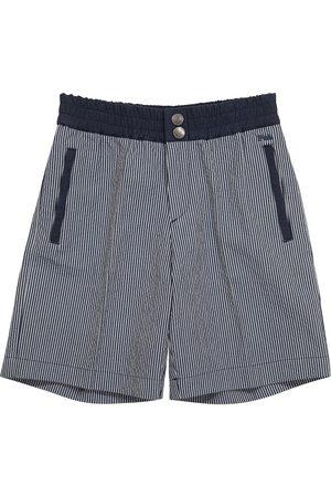 Emporio Armani Shorts a righe in cotone