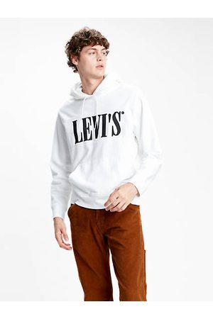 Levi's Relaxed Graphic Hoodie / White/ Forged Iron